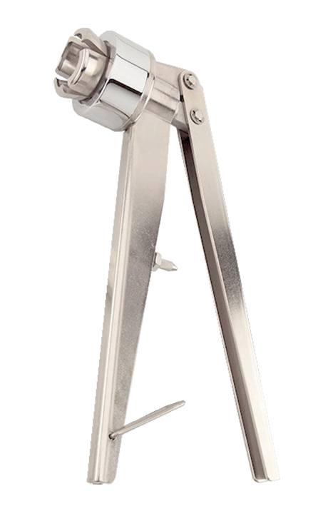 CR-100 : Pince manuelle de flacons