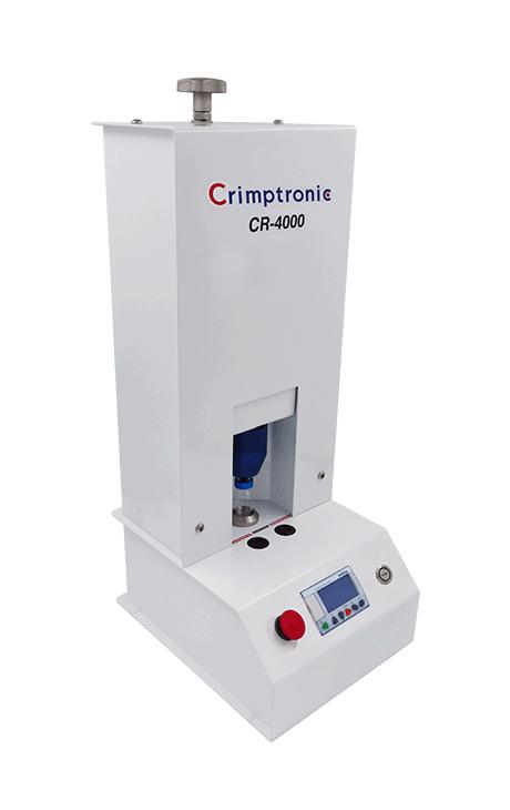 electrical crimper CR-4000, Elektrische Bördelstation modell cr-4000
