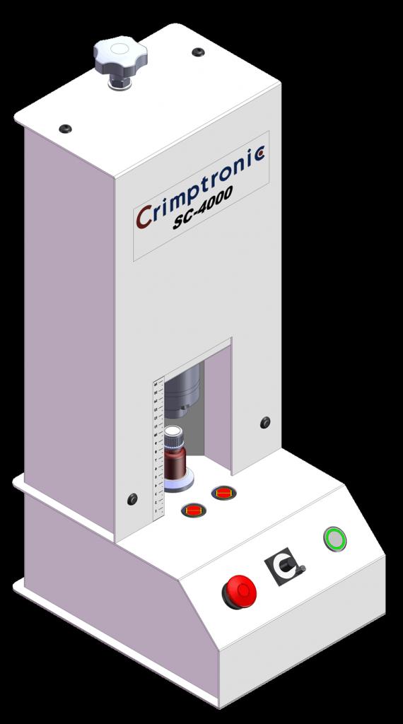 SC-4000 : visseuse dévisseuse électrique de flacons SC-4000 : Elektrische Schraubverschlussstation