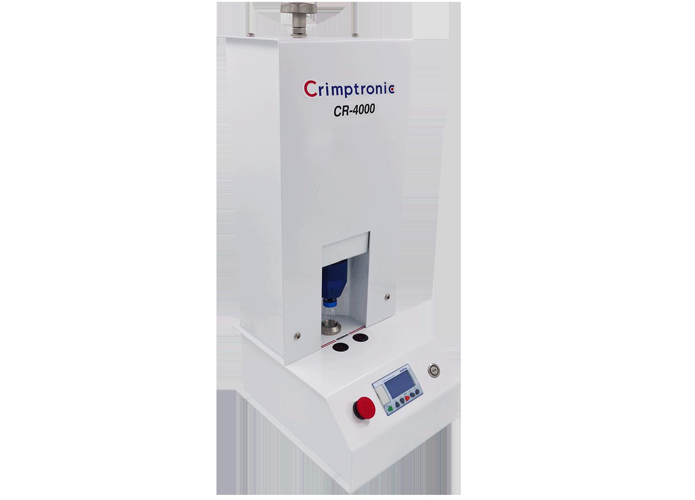 Elektrische Bördelstation zum Verschließen Vials : CR-4000