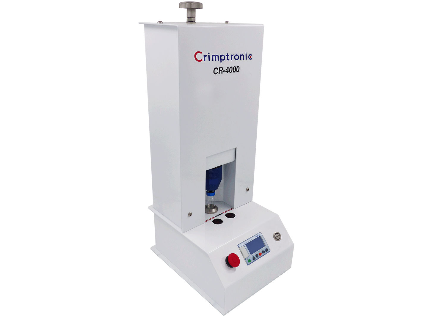 Electric crimping and decapping station for vials : CR-4000