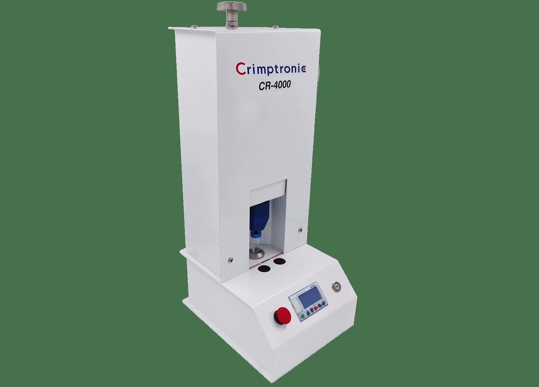 Sertisseuse électrique de flacons de laboratoire : CR-4000