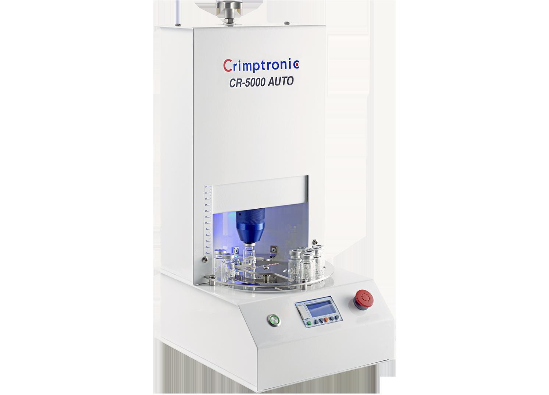 Sertisseuse électrique de flacons de laboratoire : CR-5000