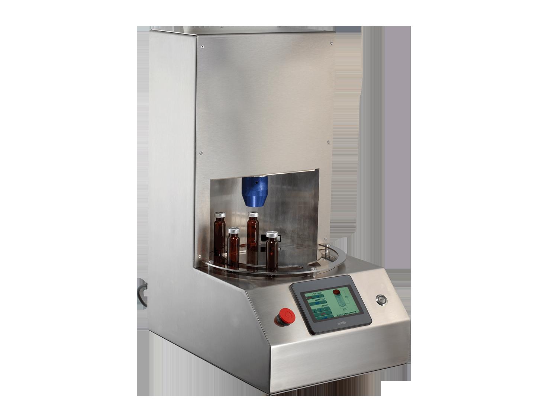 Sertisseuse électrique de flacons de laboratoire : CR-5000S