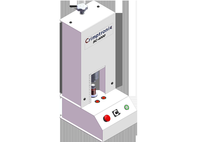 Visseuse dévisseuse électrique de flacons : SC-4000