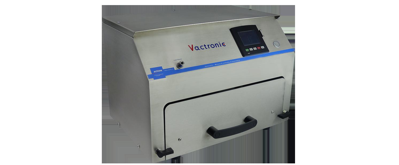 Contrôle de sertissage de flacons de laboratoire et d'étanchéité : Vactronic