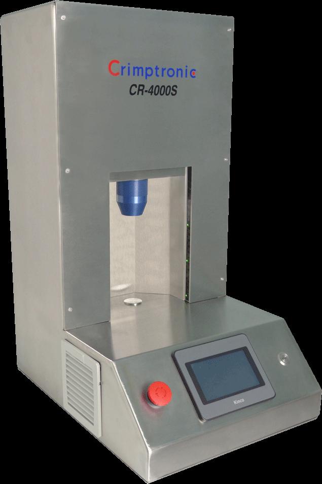 CR-4000S : Sertisseuse electrique. CR-4000S : Elektrische Bördelstation modell CR-4000S
