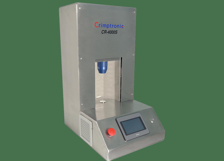 Sertisseuse inox électrique de flacons de laboratoire : CR-4000S