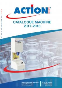 Catalogues sertisseuses, visseuses et consommables de laboratoires. catalogue machines ACTION EUROPE 2017 2018