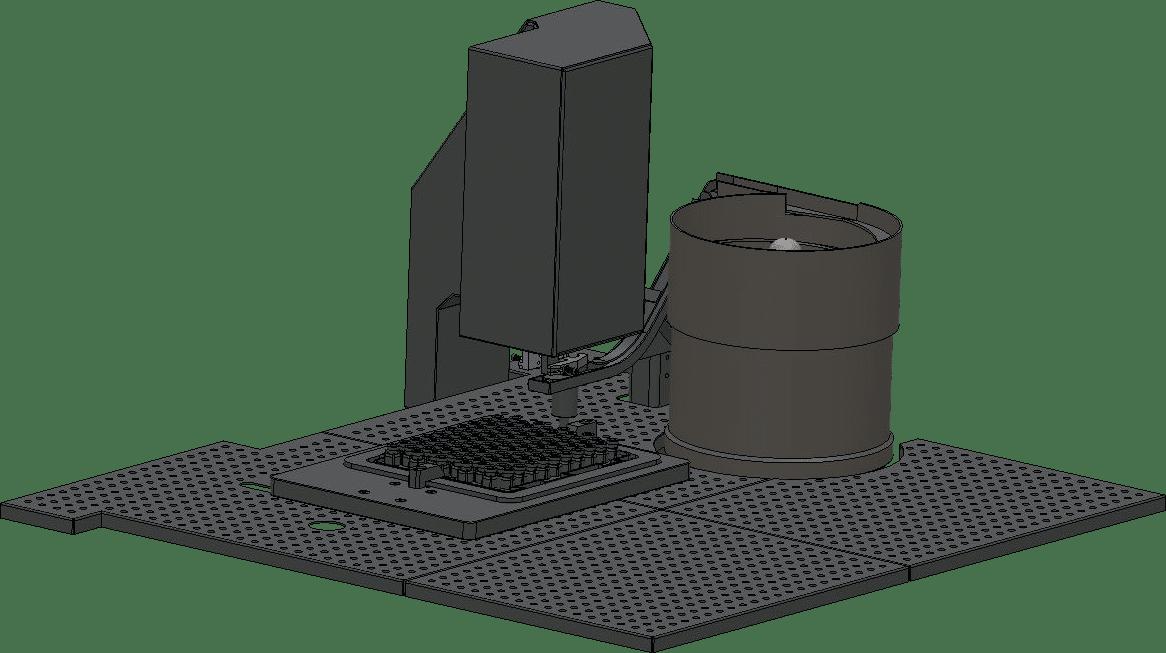 sertisseuse stérile pour flacons en nest CR-7000