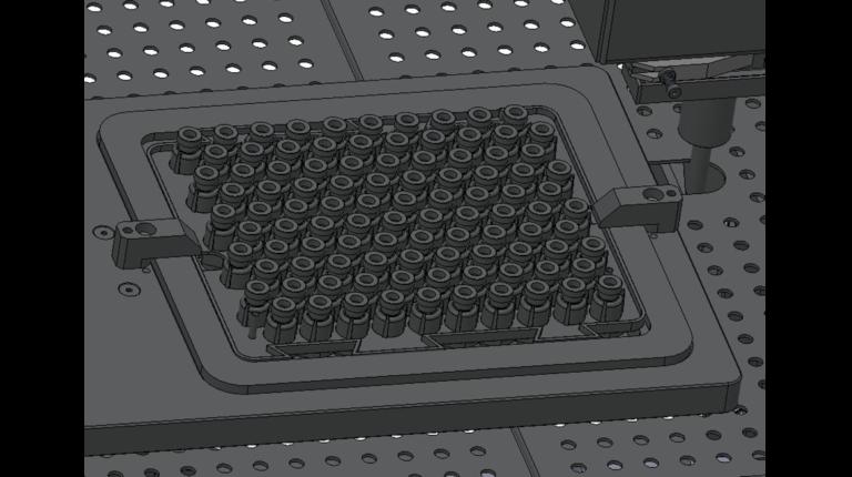 sertisseuse stérile pour flacons en nest CR-7000_zoom nest de flacons