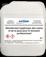 desinfectant mains et peau COV-60